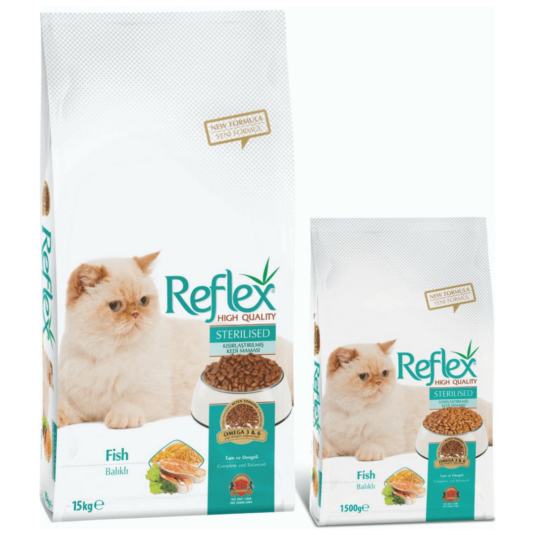 Reflex Sterilised Adult Cat Food – Fish - Pet Food - Pet Store - Pet supplies