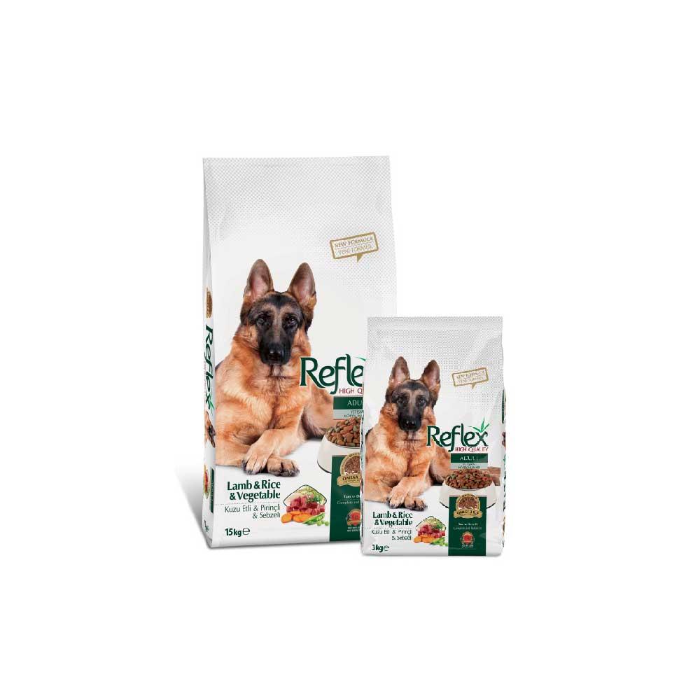 Reflex Adult Dog Food – Lamb Rice n Vegetable - Pet Food - Pet Store - Pet supplies