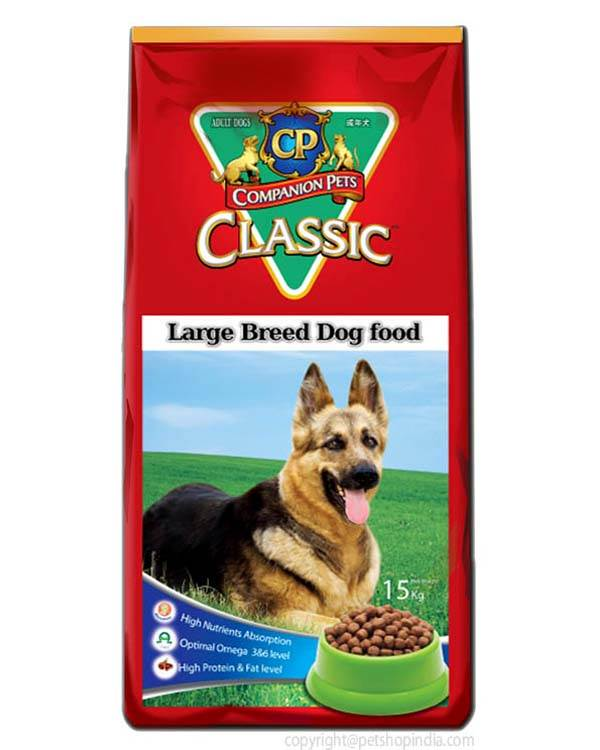 Cp Classic Dog Food Large Breed - 15 kg