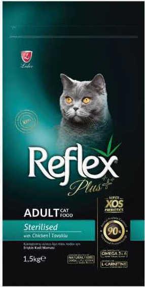 Reflex Plus Adult Cat Food Chicken Sterilized 1.5Kg - Pet Food - Pet Store - Pet supplies