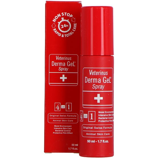 Veterinus Derma Gel Spray - 50 ML