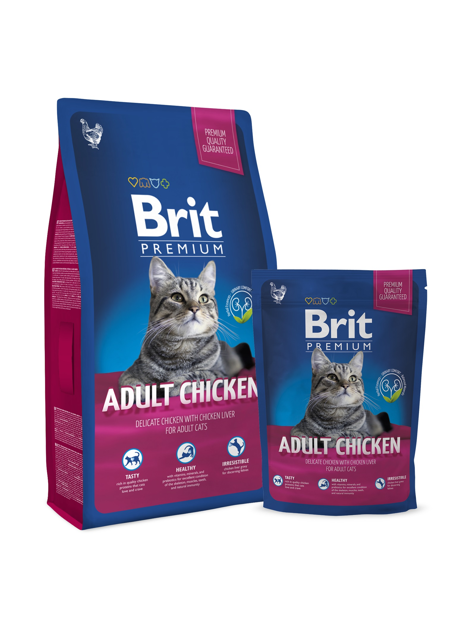 Brit Premium Cat Adult Chicken-800 G
