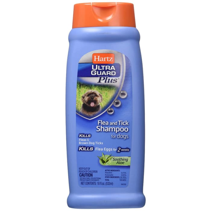 Hartz Shampoo UltraGuard Skin Therapy Flea and Tick With Soothing Aloe