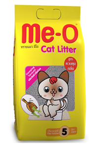 Me-O Cat Litter No Sent / Apple / Lemon