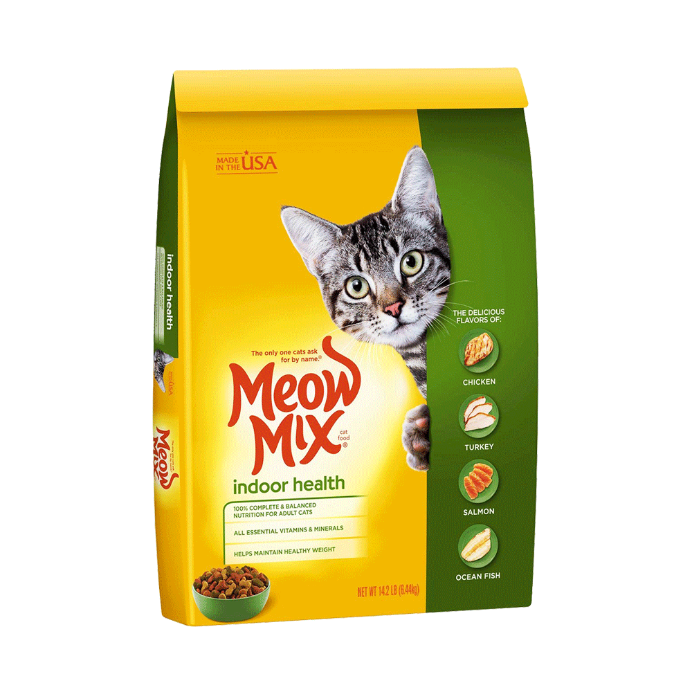 Meow Mix Cat Food Indoor Formula - Pet Food - Pet Store - Pet supplies