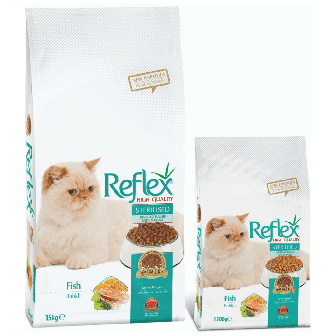 Reflex Sterilised Adult Cat Food – Fish