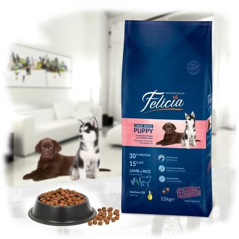 Felicia Puppy Large Breed Lamb Rice