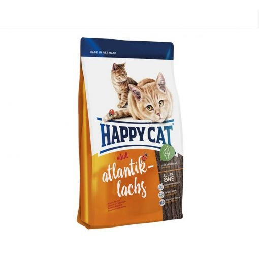 HappyCat Cat Food Atlantic Salmon – 1.4 Kg