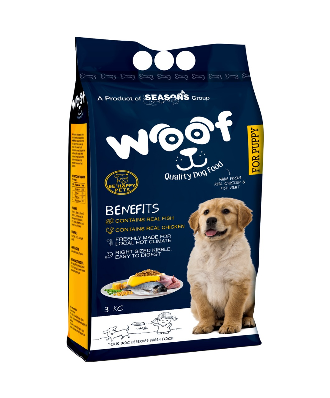 Woof Puppy Food - Pet Food - Pet Store - Pet supplies