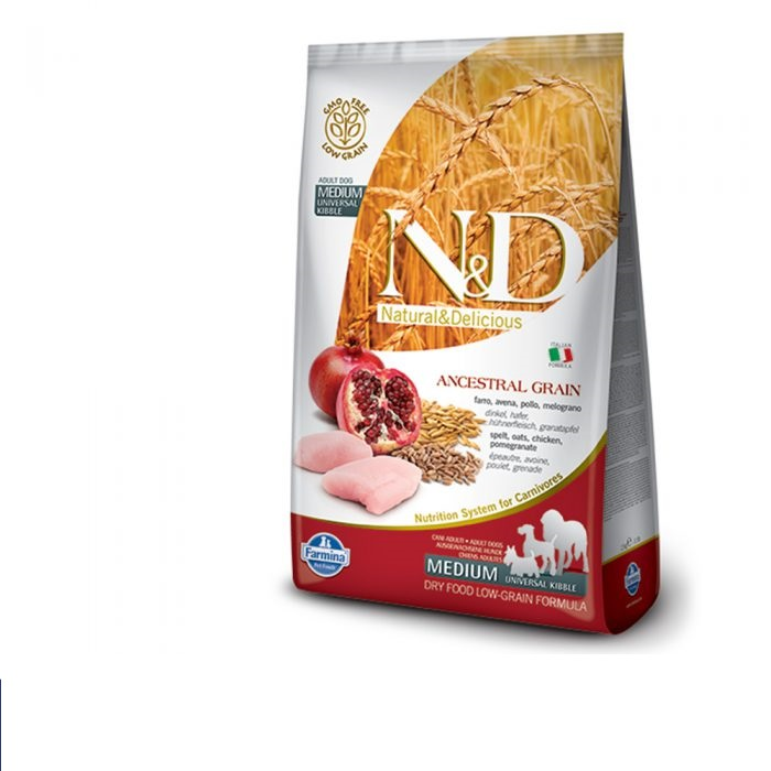 N&D Low Grain Adult Dog Food -12 kg