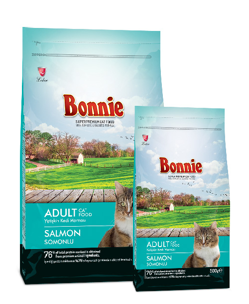 Bonnie Adult Cat Food Salmon