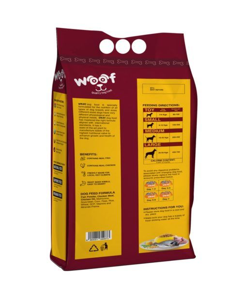Woof Dog Food - Pet Food - Pet Store - Pet supplies