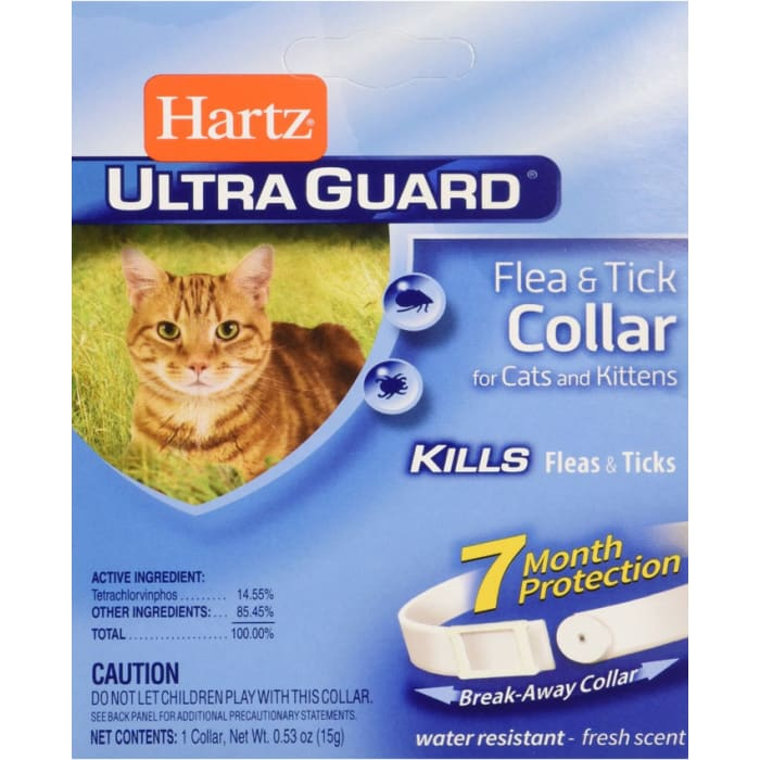 Hartz Ultra Guard Plus Tick & Flea Control Collar For Cat And Kitten
