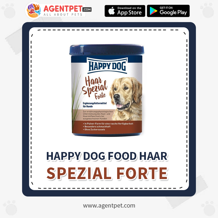 Happy Dog Food Haar Spezial Forte - Pet Food - Pet Store - Pet supplies