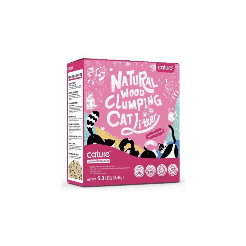 CAT LITTER CARBON PALLET - 2.4 KG
