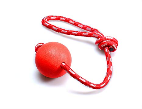 Hard Red Ball Rope For Pets