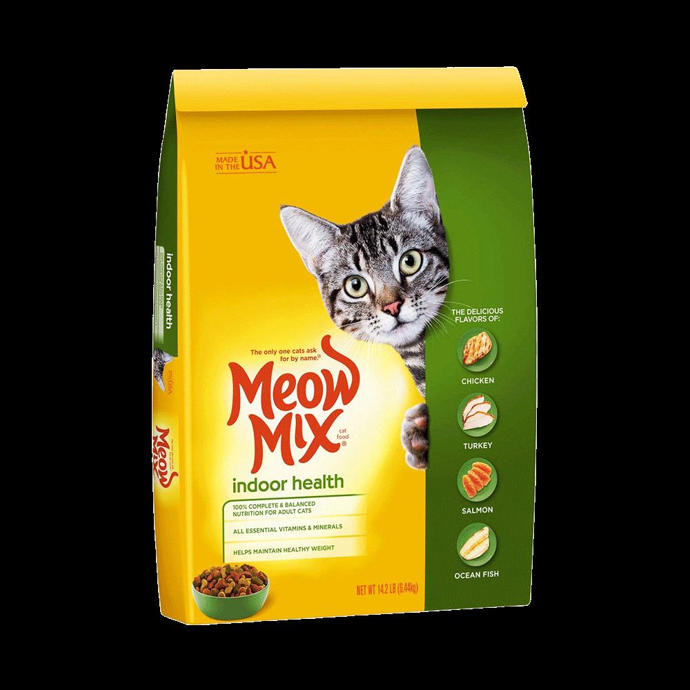 Meow Mix Cat Food Indoor Formula - Pet Food - Pet Store - Pet supplies