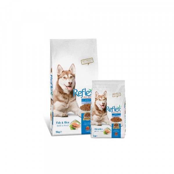 Reflex Adult Dog Food – Fish n Rice 3kg