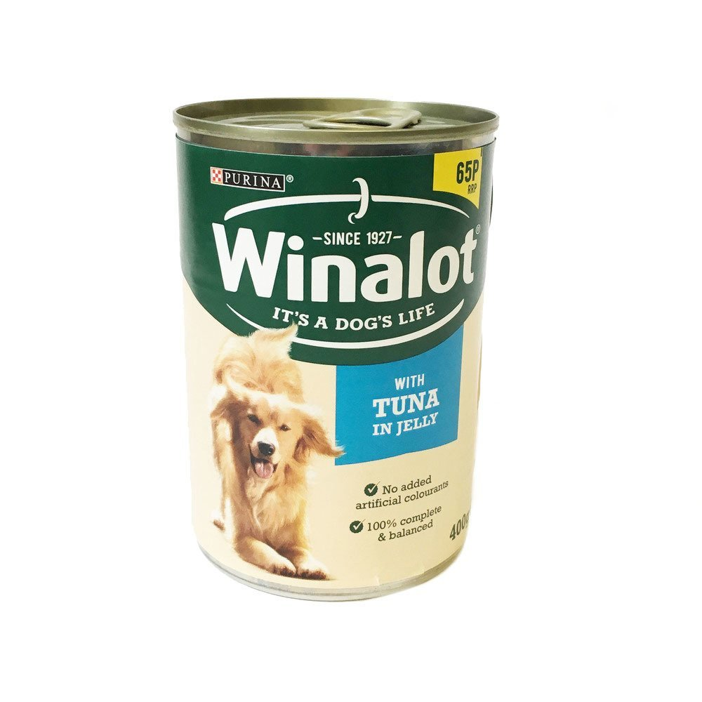 Winalot Dog Food in Jelly 400g