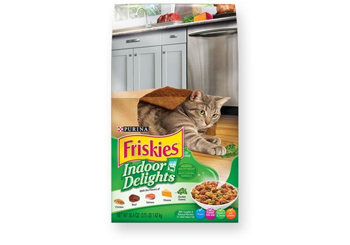 Friskies Indoor Delights Cat Food - Pet Food - Pet Store - Pet supplies