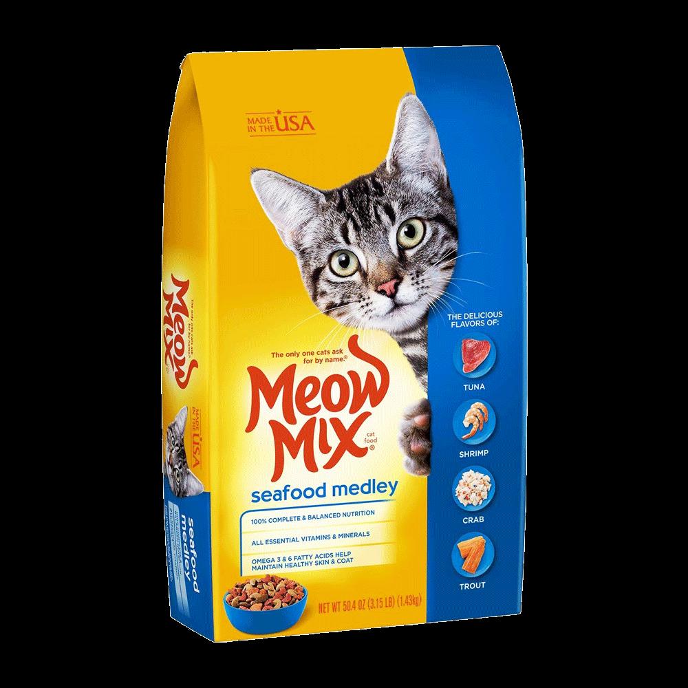 Meow Mix Cat Food Seafood Medley - Pet Food - Pet Store - Pet supplies
