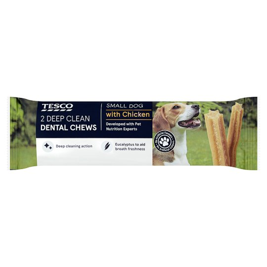 Tesco 2. Deep Clean Dental Chew For Small Dogs 40g