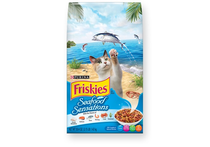 Friskies Seafood Sensations Cat Food - Pet Food - Pet Store - Pet supplies