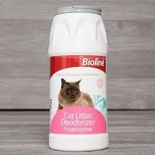 Bioline Cat Litter Deodorant Powder - Pet Accessories - Pet Store - Pet supplies