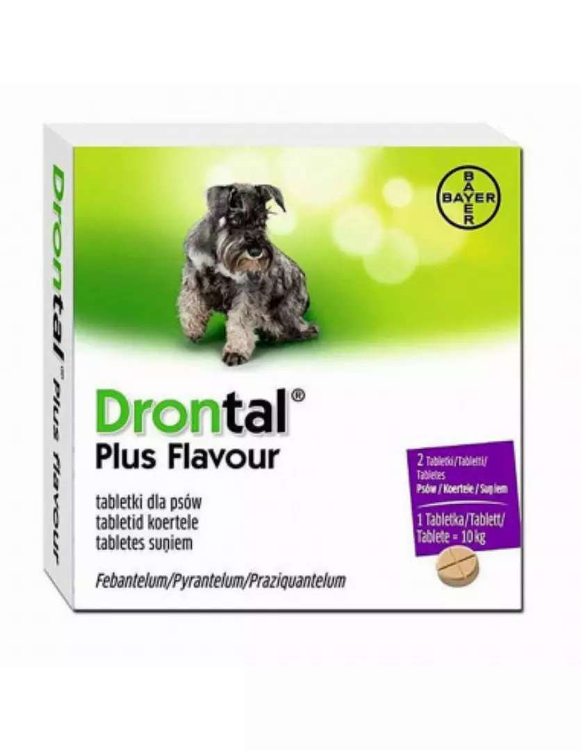 Drontal Plus for Dogs (1 Tablet)