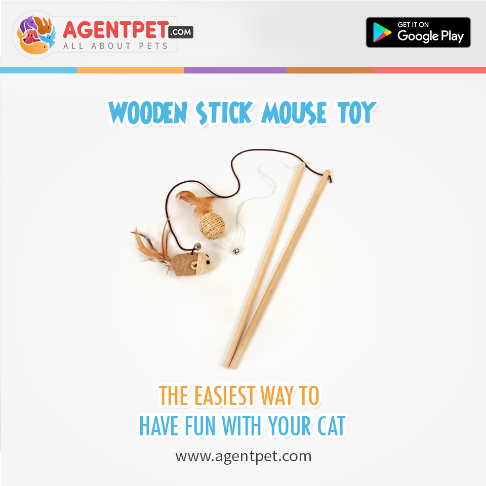 Stick Mouse Toy For Cats And Kittens