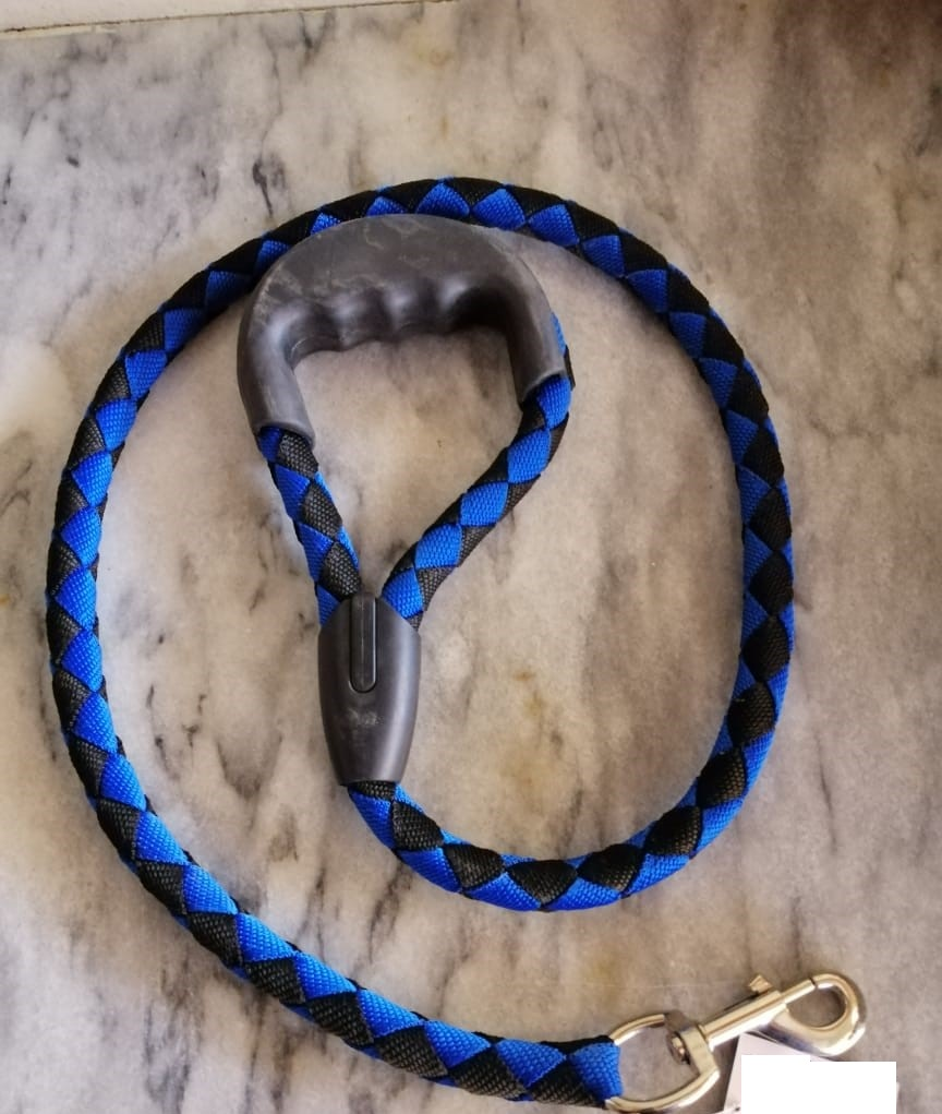 Dog Cat Leash Harness With Rubber Grip - Large - Pet Accessories - Pet Store - Pet supplies