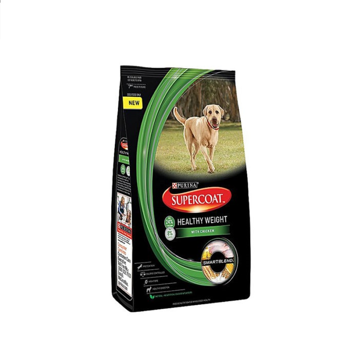 Purina Dog Food Supercoat Adult Healthy Weight
