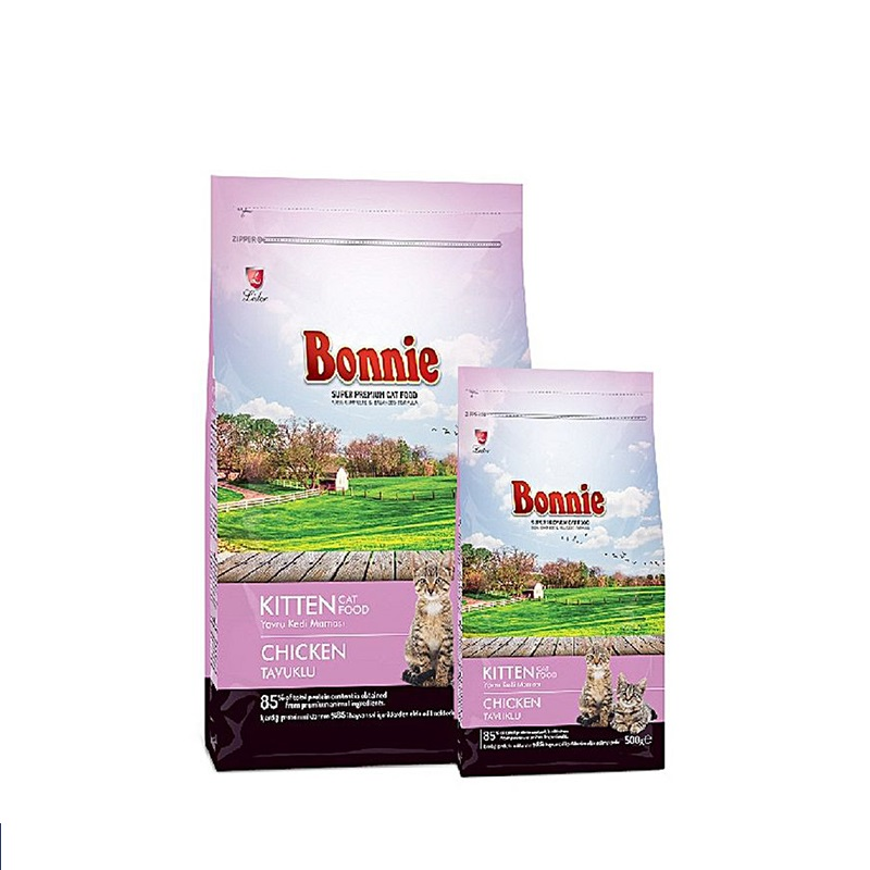 Bonnie Kitten Food – Chicken - Pet Food - Pet Store - Pet supplies