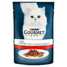 Purina Gourmet Mini Fillets in Gravy (Chicken or Beef) - Pet Food - Pet Store - Pet supplies