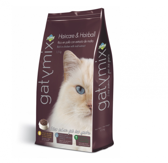Gatymix Haircare & Hairball 1.5 Kg - Pet Food - Pet Store - Pet supplies