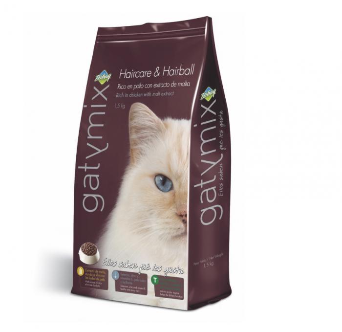 Gatymix Haircare & Hairball 1.5 Kg - Pet Food - Pet Store - Pet supplies