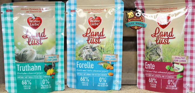 Wahre Liebe Jelly Pouches Trout / Turkey / Duck - Pet Food - Pet Store - Pet supplies
