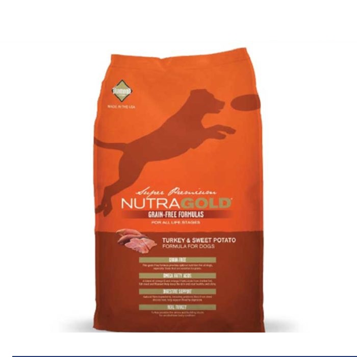 Nutragold Dog Food Turkey and Sweet Potato 2Kg