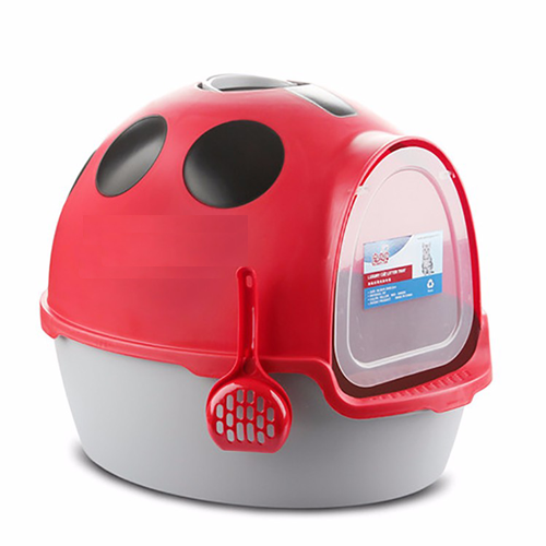Cat Litter Tray – Ladybird Shape