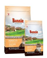 Bonnie Adult Cat Food Chicken
