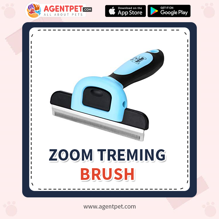 Zoom Treming Brush - Pet Accessories - Pet Store - Pet supplies