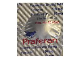 Praferan Deworming Tablets for Cat and Dogs 1 tablet - Pet Accessories - Pet Store - Pet supplies