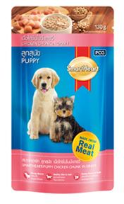Smartheart Dog Puppy Pouch Beef, Chicken Chunk In Gravy - Pet Food - Pet Store - Pet supplies
