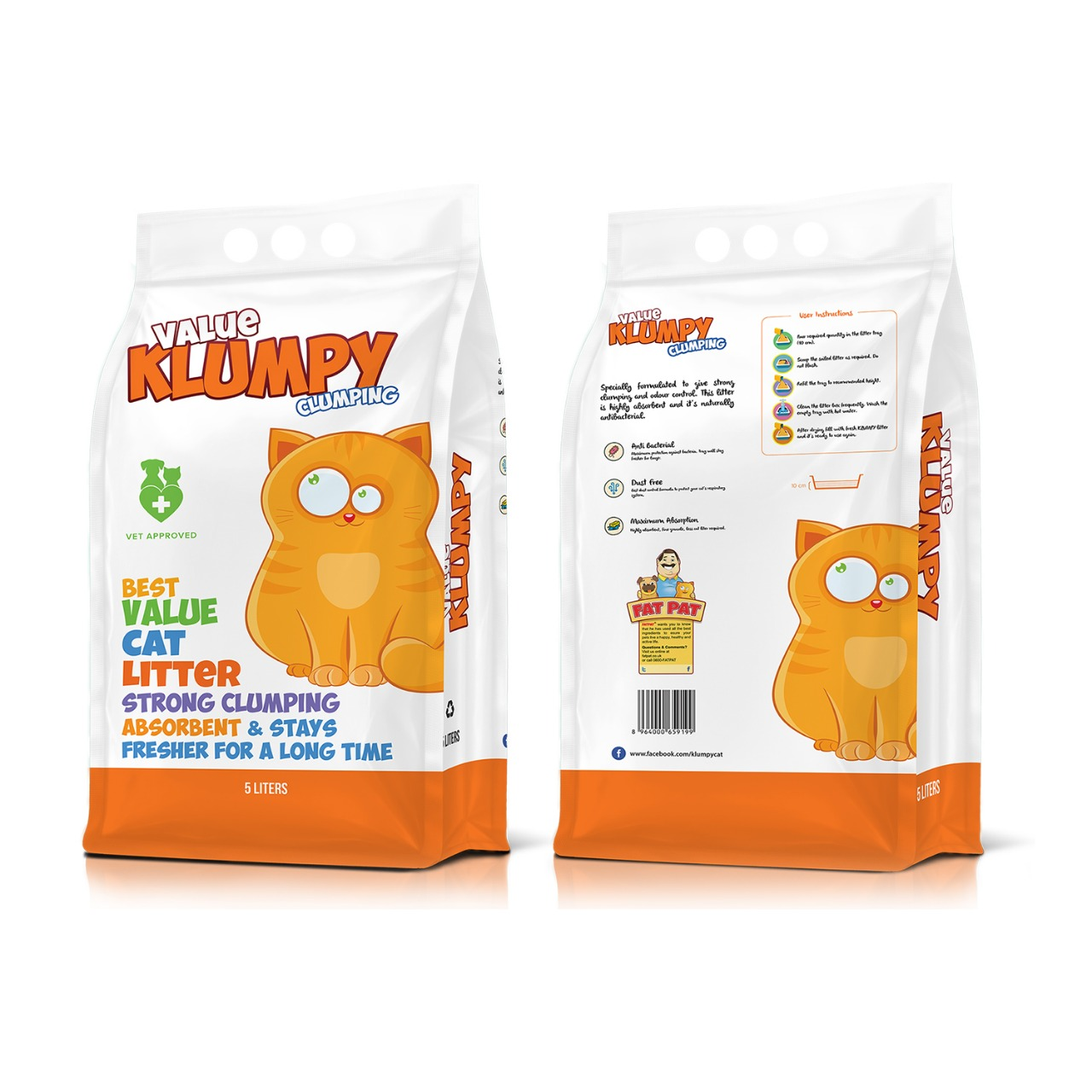 Klumpy Value 5 Litter - Pet Accessories - Pet Store - Pet supplies