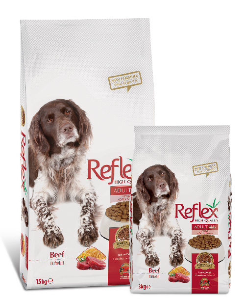 Reflex Adult Dog Food Beef High Energy