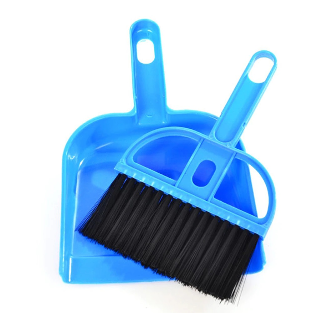 Small Broom Dustpan Pet Cleaning Brush