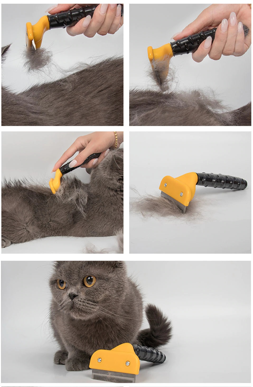 Pet Hair Removal Comb / Brush (Dog and Cat) Grooming Tool - Pet Accessories - Pet Store - Pet supplies