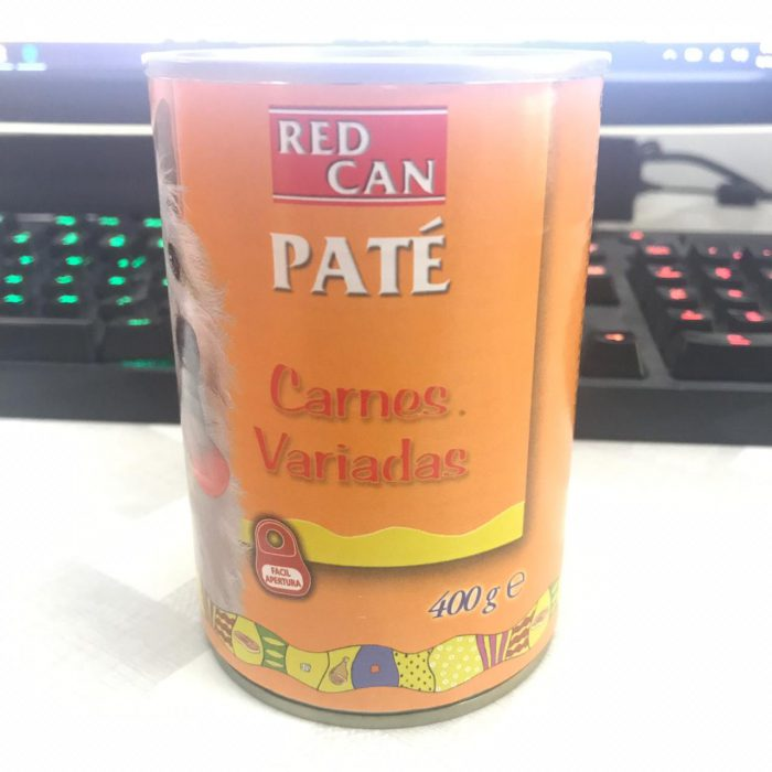 Red Can Pate Mixed Meet 400G