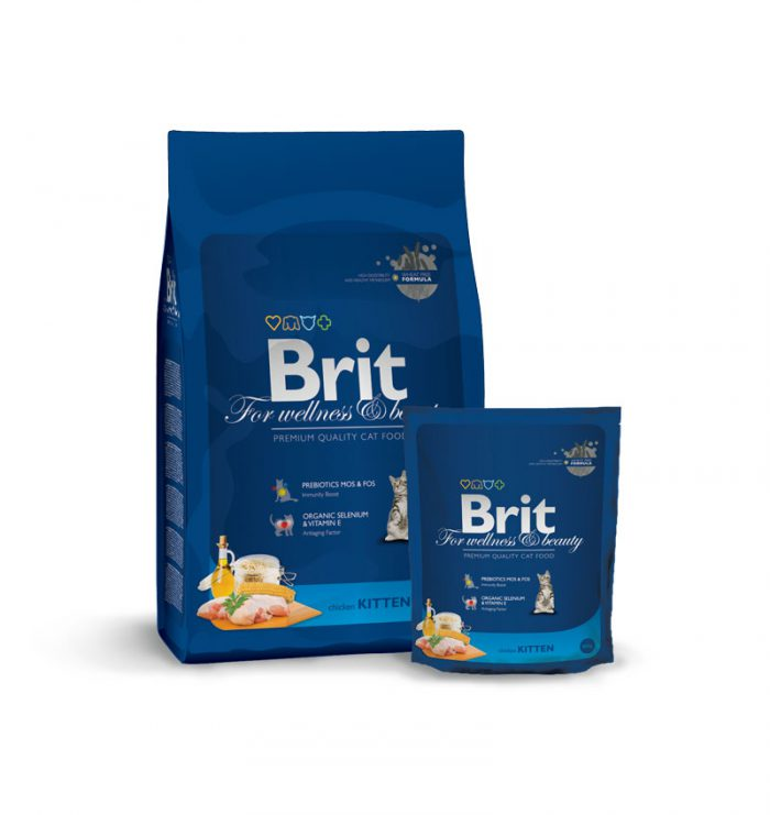 Brit Premium Cat Kitten- 800g - Pet Food - Pet Store - Pet supplies
