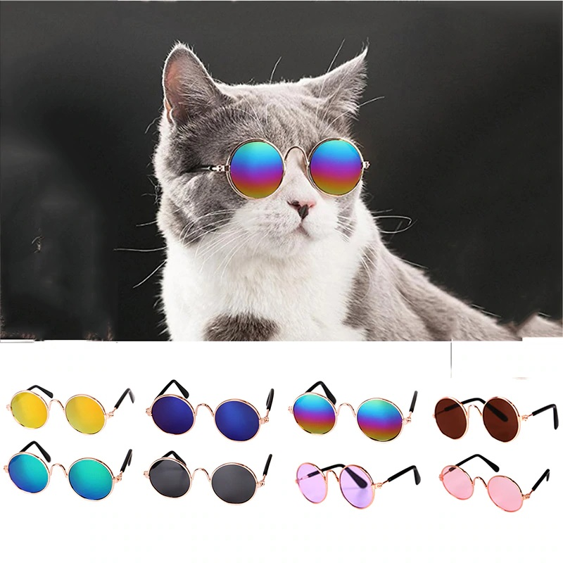 Dog Cat Pet Glasses For Eye-wear Sunglasses Accessories Pet Supplies